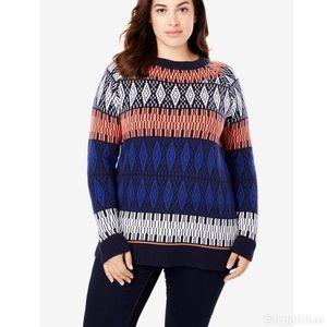 🆕 Fairisle Sweater Sz 18/20